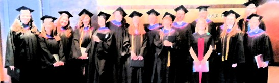 A group of graduates