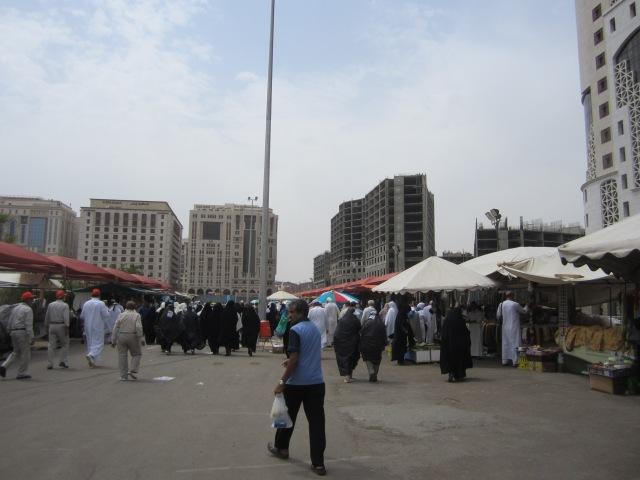Street market in Medina