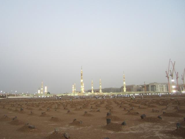 Baqi graveyard in Medina
