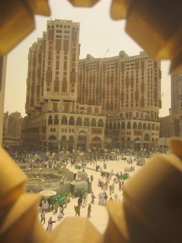 A hotel in Mecca
