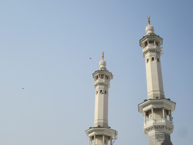 Minarets at the Haram