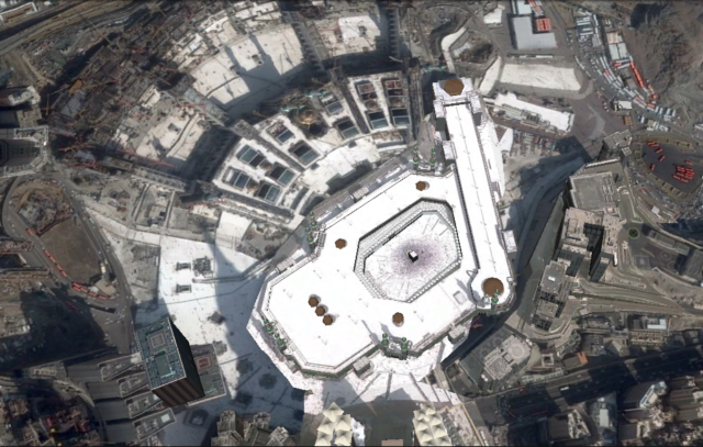 Arial view of the Kabah